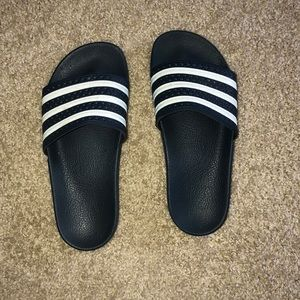 adidas Shoes - Navy Blue Adidas slides